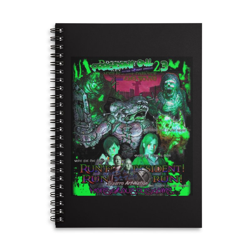 President Evil 23: Toxic Slime Accessories Lined Spiral Notebook by Monstrous Customs