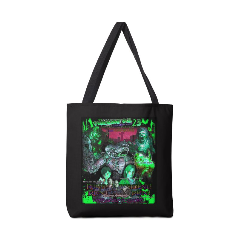President Evil 23: Toxic Slime Accessories Tote Bag Bag by Monstrous Customs