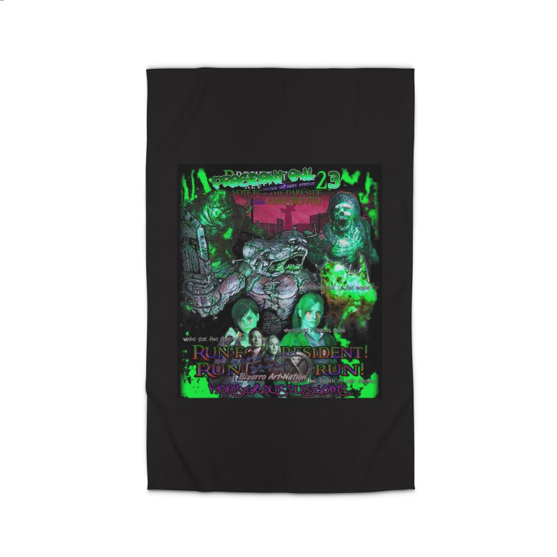 President Evil 23: Toxic Slime Home Rug by Monstrous Customs