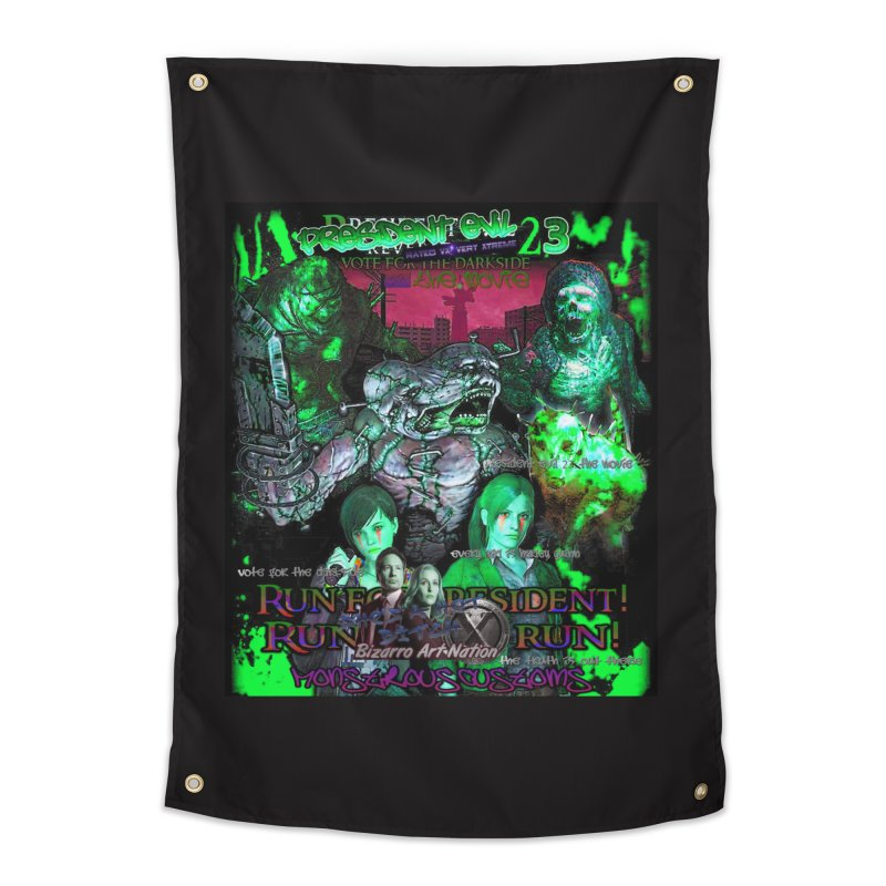 President Evil 23: Toxic Slime Home Tapestry by Monstrous Customs