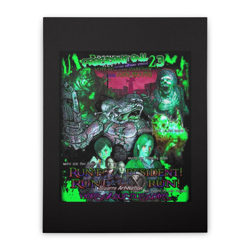 President Evil 23: Toxic Slime Home Stretched Canvas by Monstrous Customs