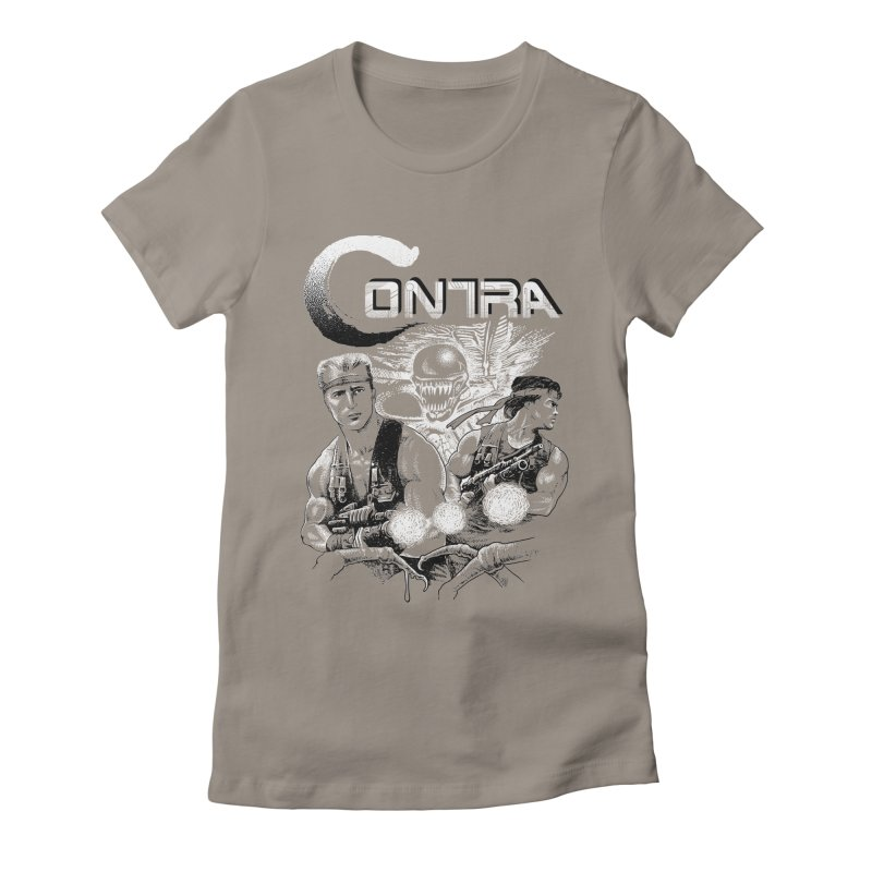 Contra Women's Fitted T-Shirt by montoya's Artist Shop