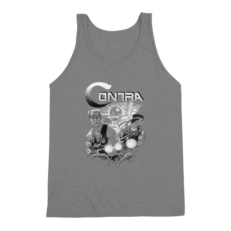 Contra Men's Triblend Tank by montoya's Artist Shop