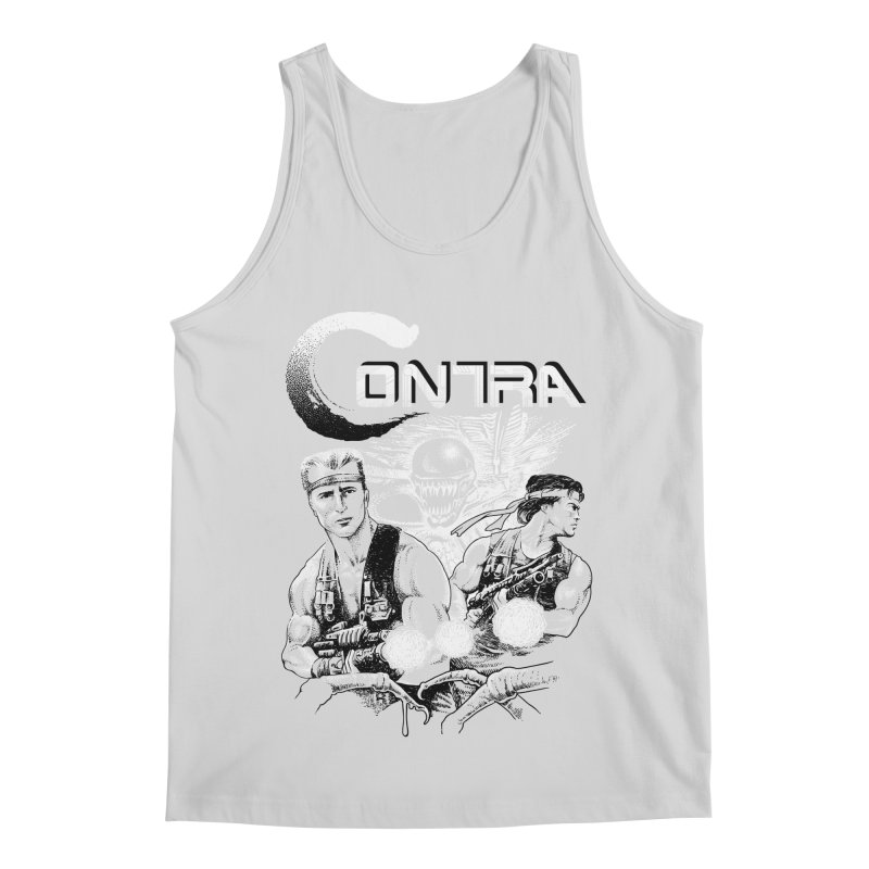 Contra Men's Regular Tank by montoya's Artist Shop