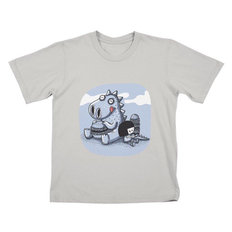 Tentempié Kids T-Shirt by montt's Artist Shop