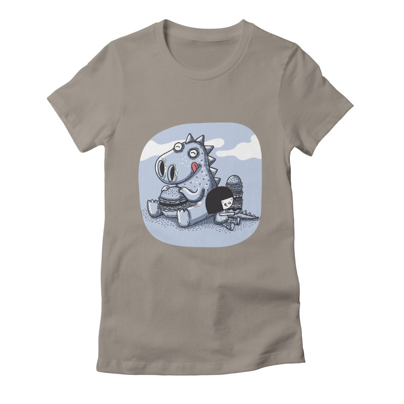 Tentempié Women's Fitted T-Shirt by montt's Artist Shop