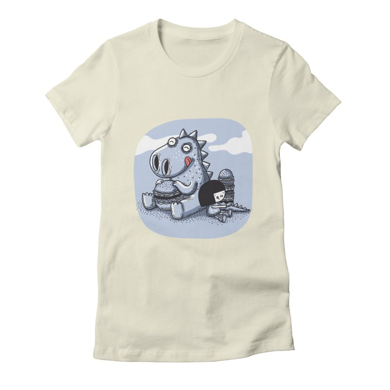 Tentempié Women's Fitted T-Shirt by montt's Artist Shop