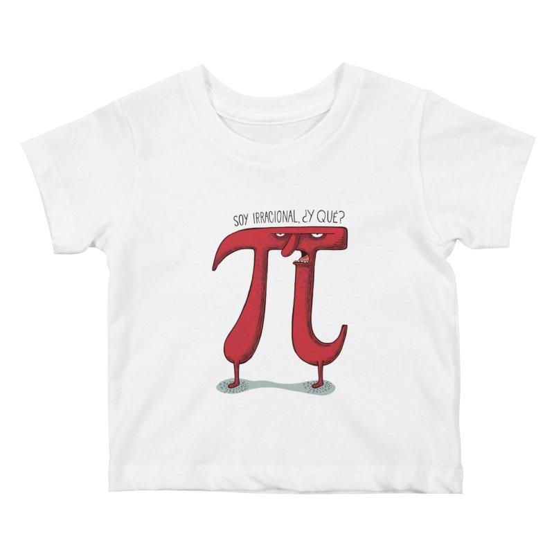 Número irracional Kids Baby T-Shirt by montt's Artist Shop