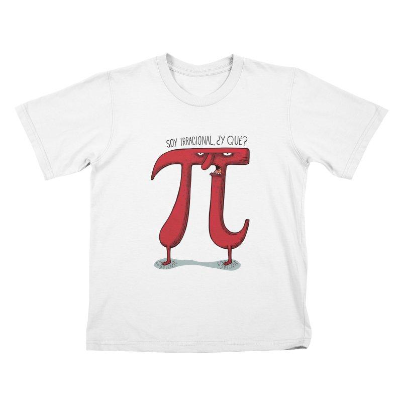 Número irracional Kids T-Shirt by montt's Artist Shop