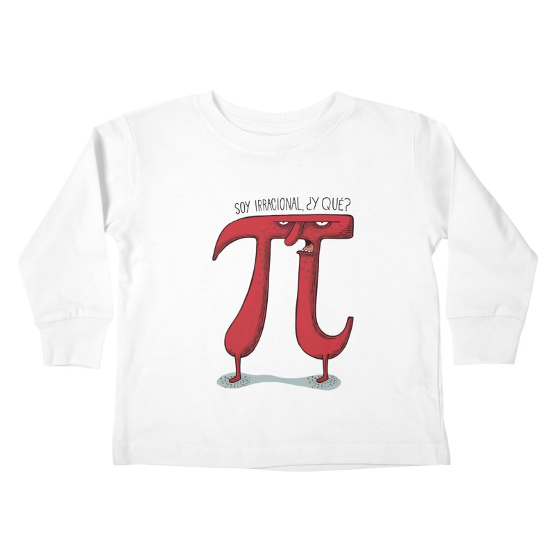 Número irracional Kids Toddler Longsleeve T-Shirt by montt's Artist Shop