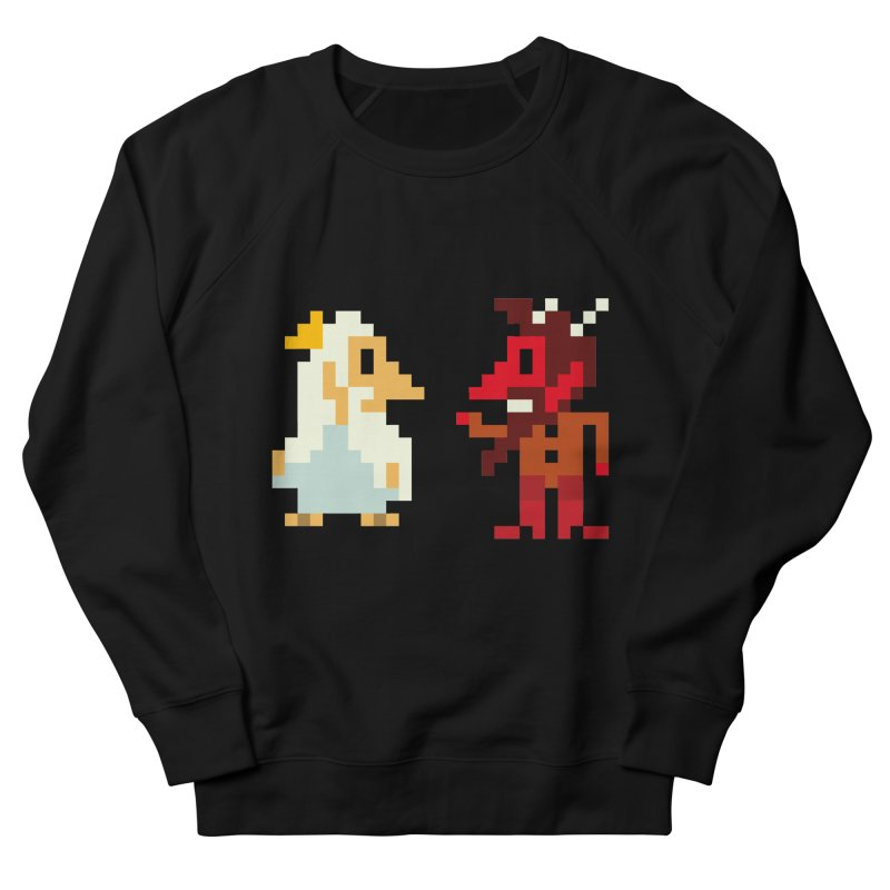 8 BITS Women's French Terry Sweatshirt by montt's Artist Shop