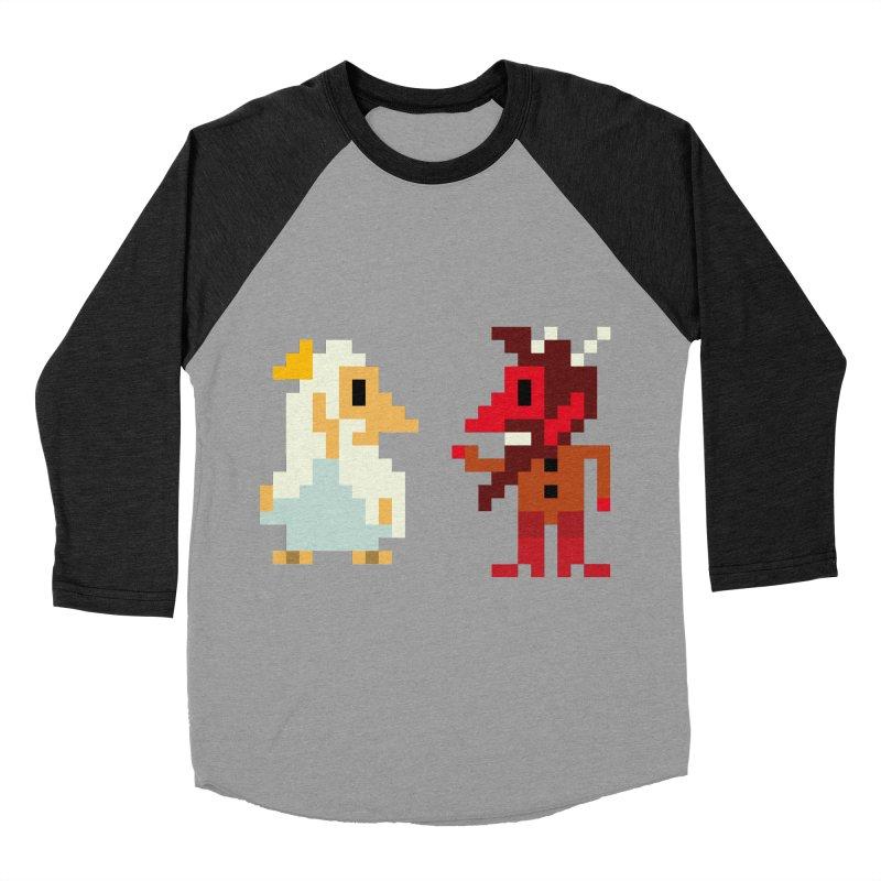 8 BITS Women's Baseball Triblend T-Shirt by montt's Artist Shop