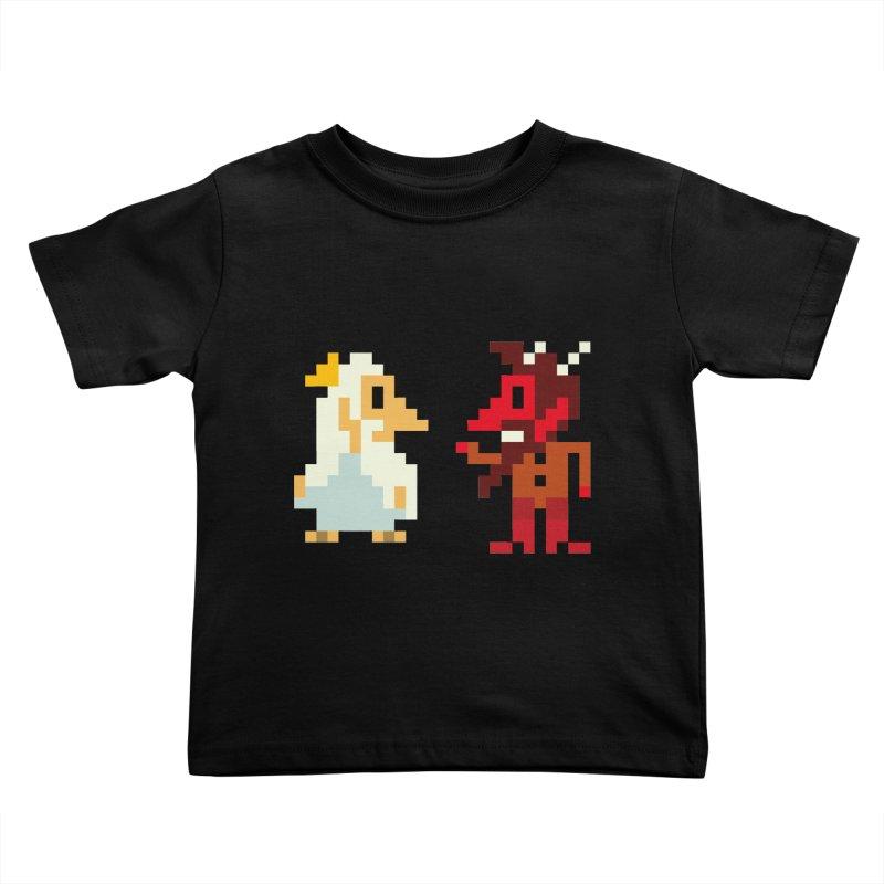 8 BITS Kids Toddler T-Shirt by montt's Artist Shop