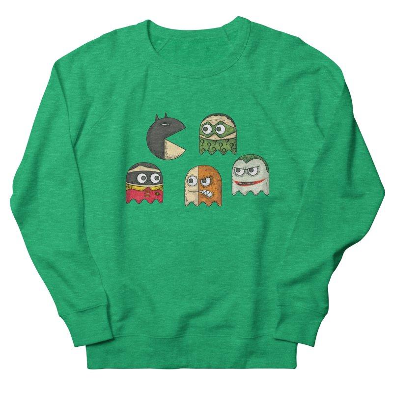 Pacman & Robin Women's Sweatshirt by montt's Artist Shop