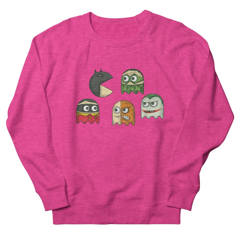 Pacman & Robin Women's French Terry Sweatshirt by montt's Artist Shop