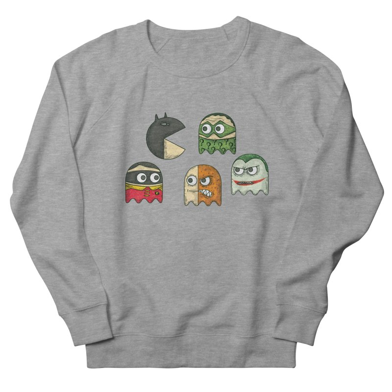 Pacman & Robin Men's Sweatshirt by montt's Artist Shop
