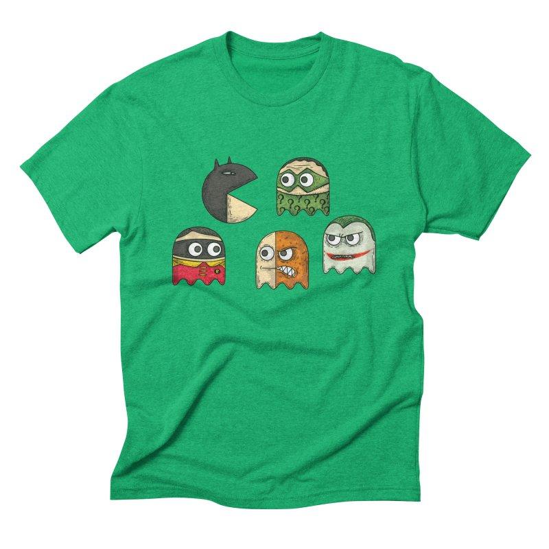 Pacman & Robin Men's Triblend T-Shirt by montt's Artist Shop
