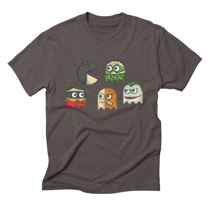 Pacman & Robin Men's Triblend T-shirt by montt's Artist Shop