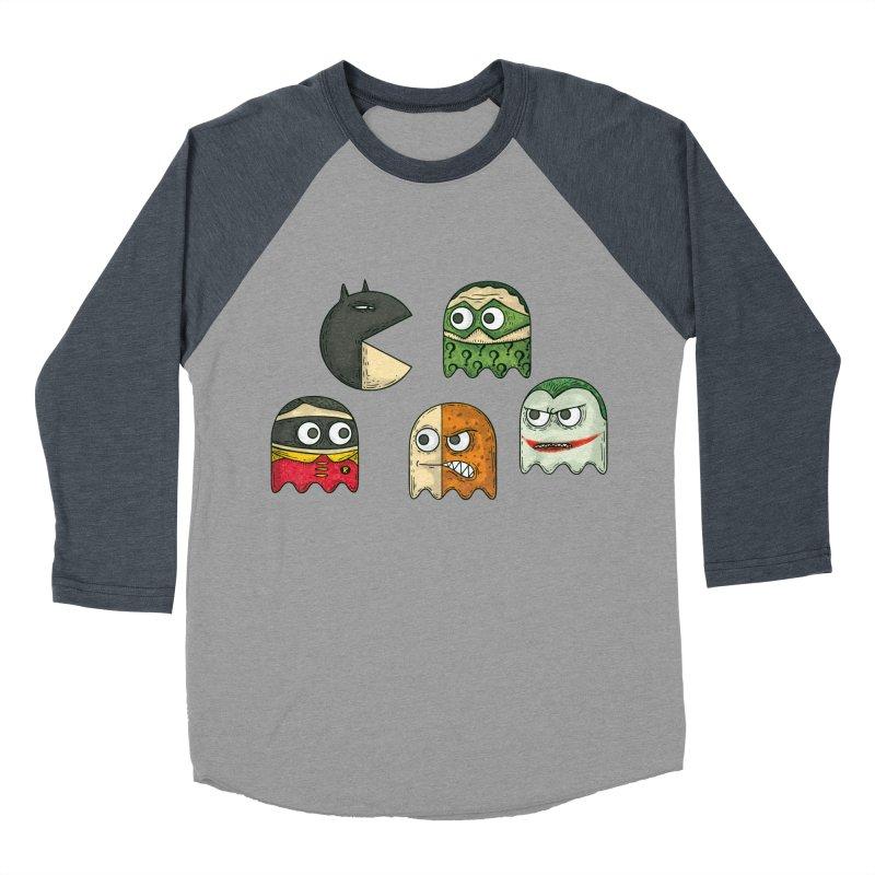 Pacman & Robin Women's Baseball Triblend T-Shirt by montt's Artist Shop