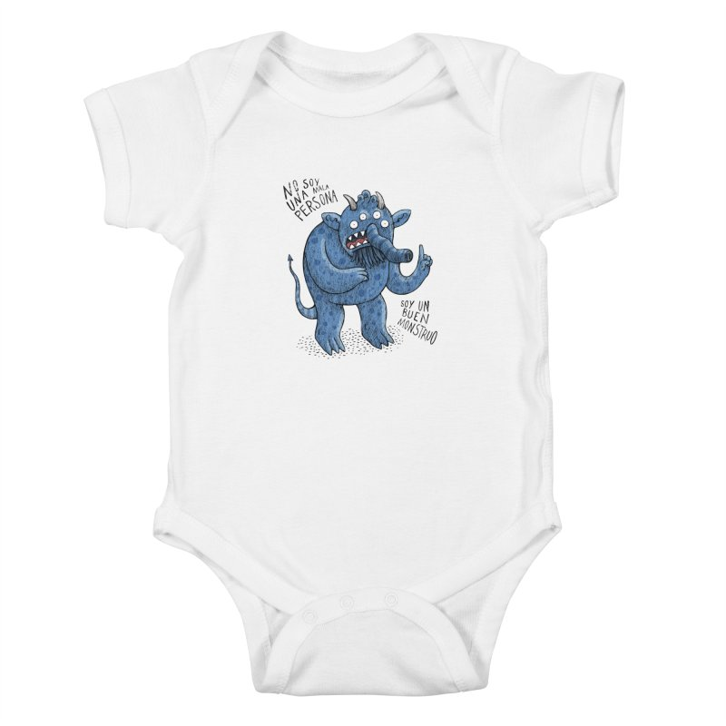 Buen monstruo Kids Baby Bodysuit by montt's Artist Shop