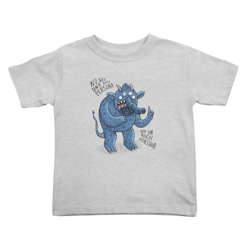 Buen monstruo Kids Toddler T-Shirt by montt's Artist Shop