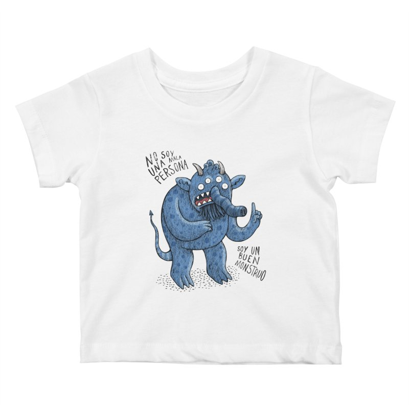 Buen monstruo Kids Baby T-Shirt by montt's Artist Shop
