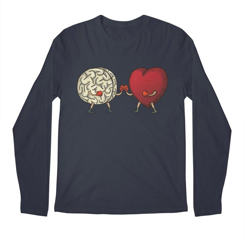 Lucha diaria Men's Longsleeve T-Shirt by montt's Artist Shop