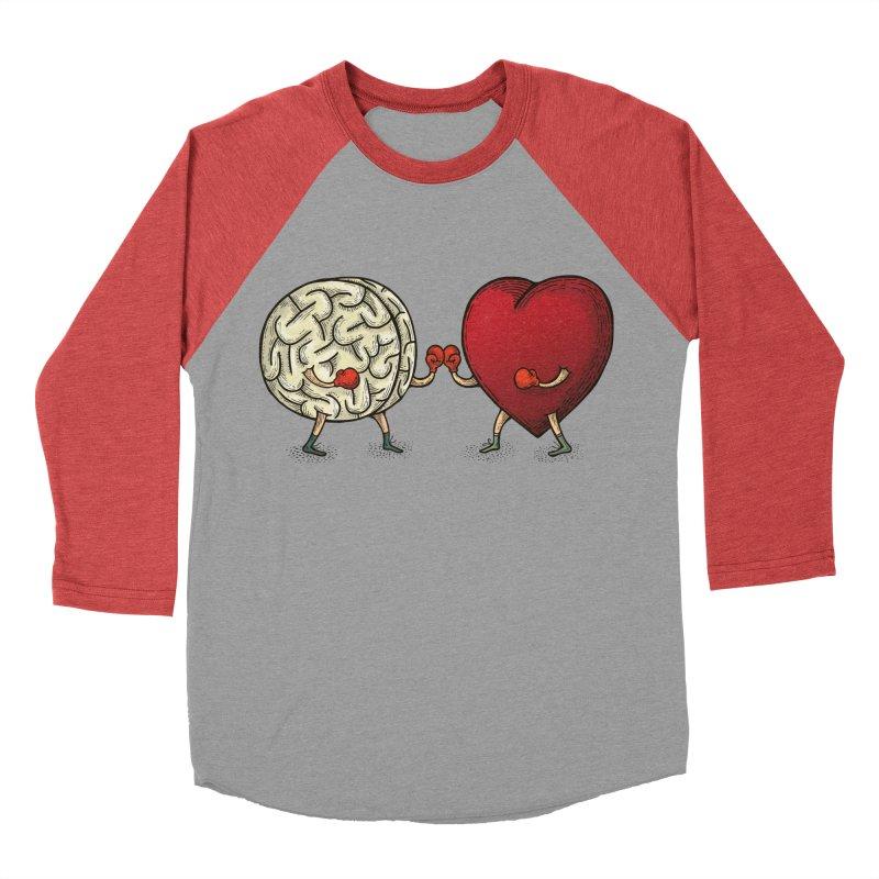 Lucha diaria Men's Baseball Triblend T-Shirt by montt's Artist Shop