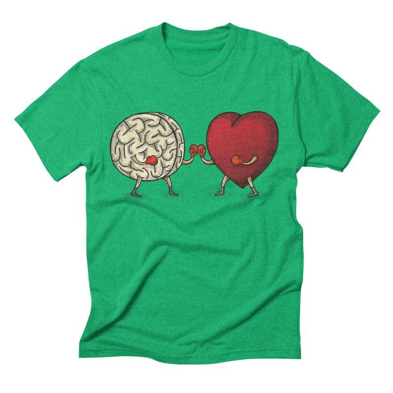 Lucha diaria Men's Triblend T-shirt by montt's Artist Shop