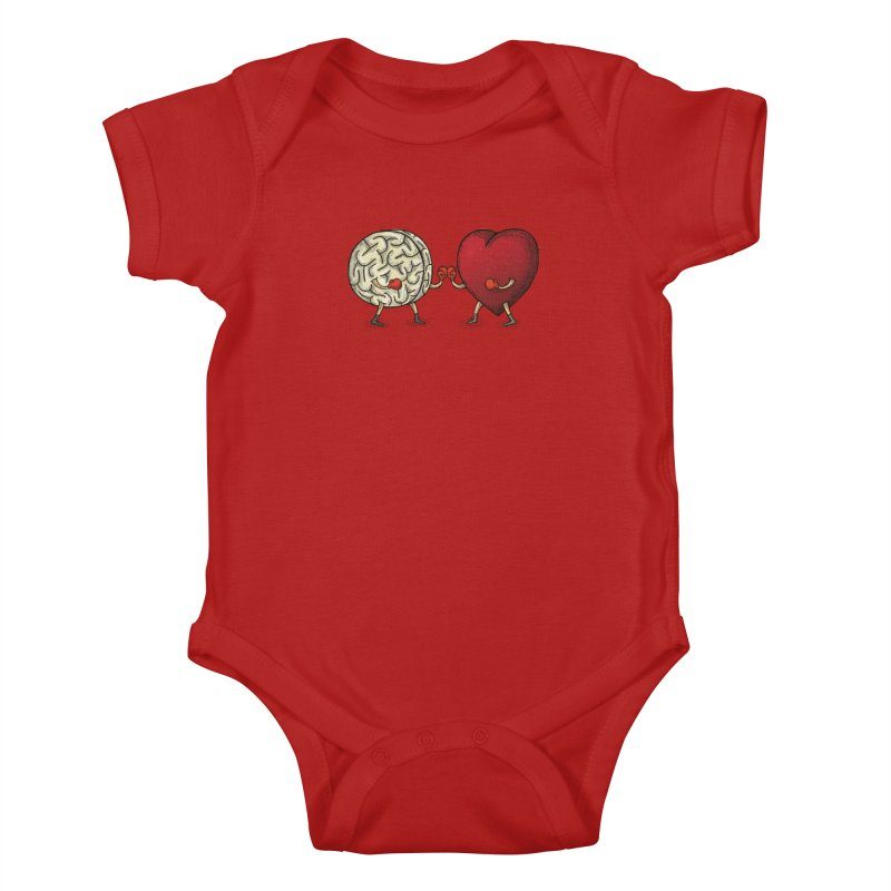 Lucha diaria Kids Baby Bodysuit by montt's Artist Shop
