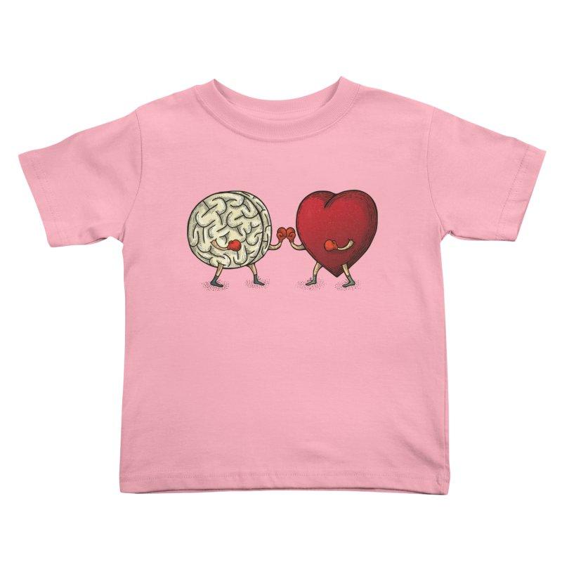 Lucha diaria Kids Toddler T-Shirt by montt's Artist Shop