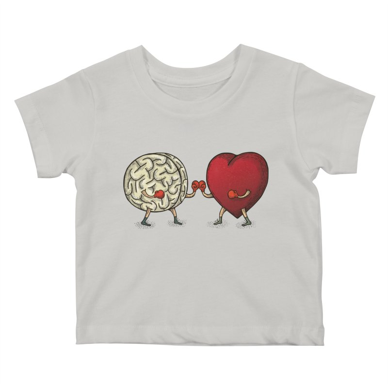 Lucha diaria Kids Baby T-Shirt by montt's Artist Shop