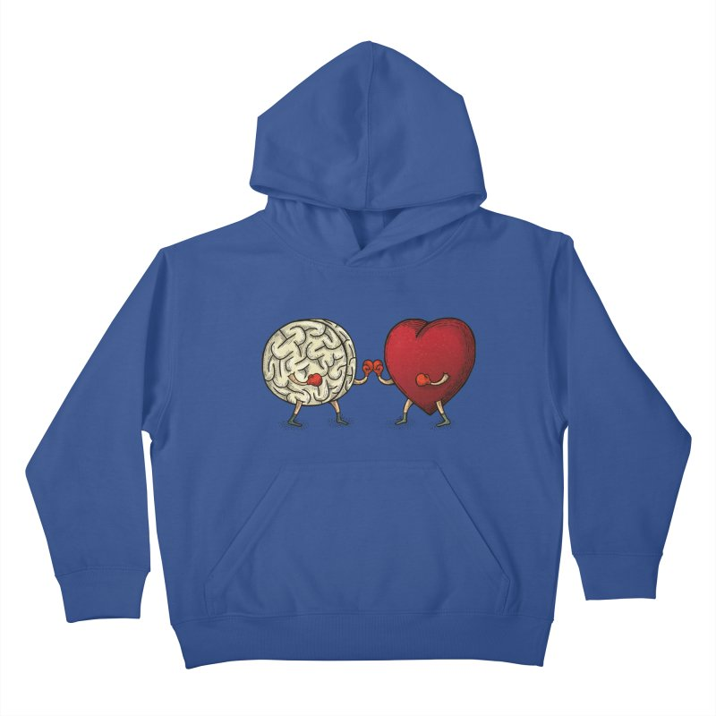Lucha diaria Kids Pullover Hoody by montt's Artist Shop