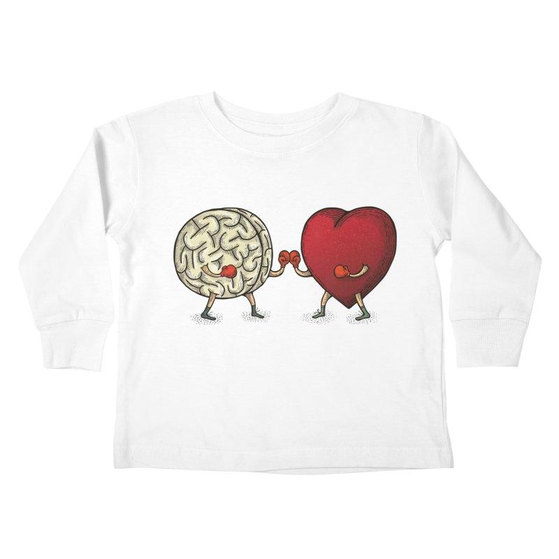 Lucha diaria Kids Toddler Longsleeve T-Shirt by montt's Artist Shop