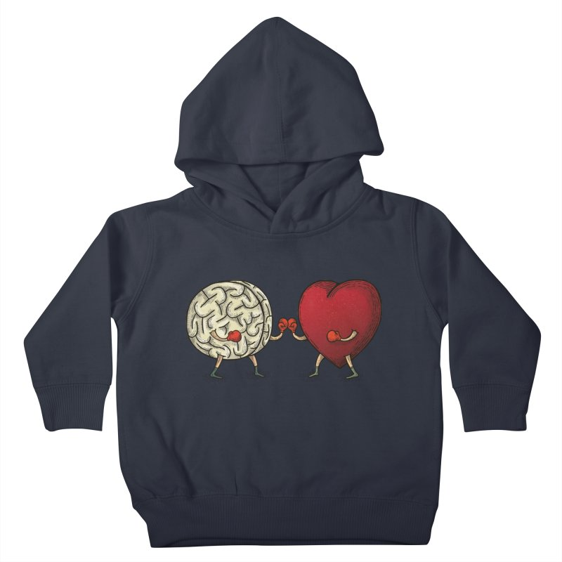 Lucha diaria Kids Toddler Pullover Hoody by montt's Artist Shop