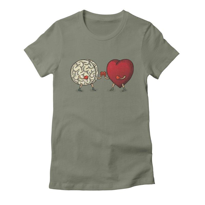 Lucha diaria Women's T-Shirt by montt's Artist Shop