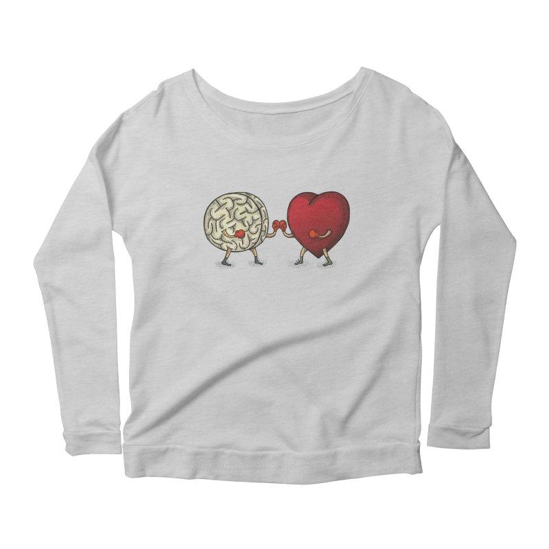 Lucha diaria Women's Scoop Neck Longsleeve T-Shirt by montt's Artist Shop