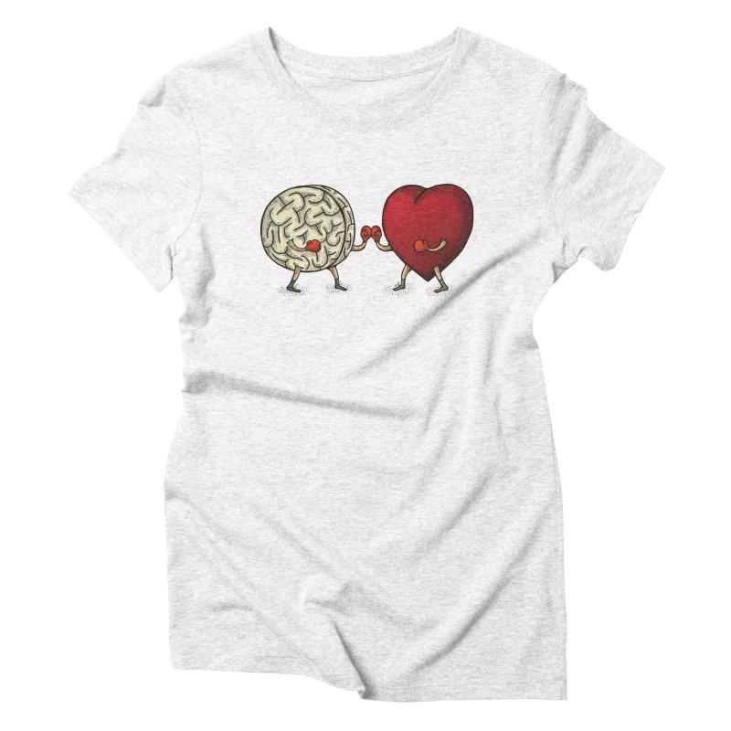 Lucha diaria Women's Triblend T-shirt by montt's Artist Shop