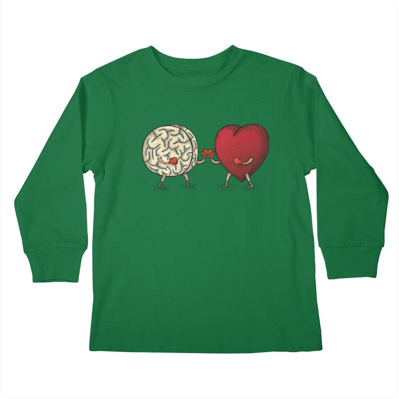 Lucha diaria Kids Longsleeve T-Shirt by montt's Artist Shop
