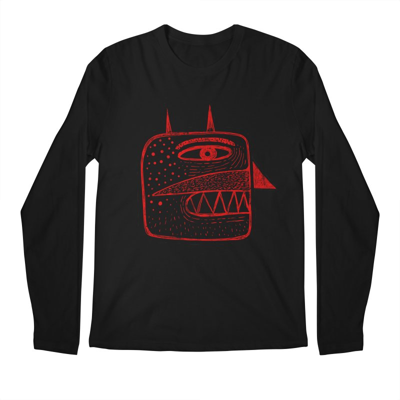 Diábolo 1 Men's Longsleeve T-Shirt by montt's Artist Shop