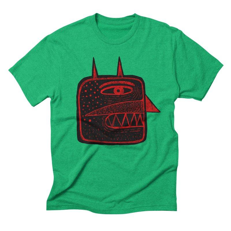 Diábolo 1 Men's Triblend T-Shirt by montt's Artist Shop