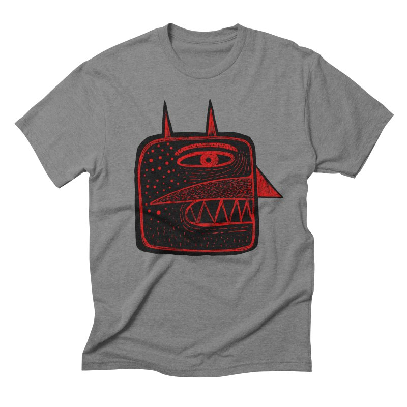 Diábolo 1 Men's Triblend T-shirt by montt's Artist Shop