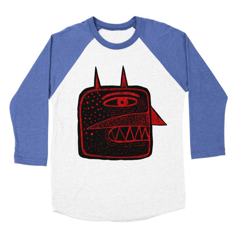 Diábolo 1 Women's Baseball Triblend T-Shirt by montt's Artist Shop