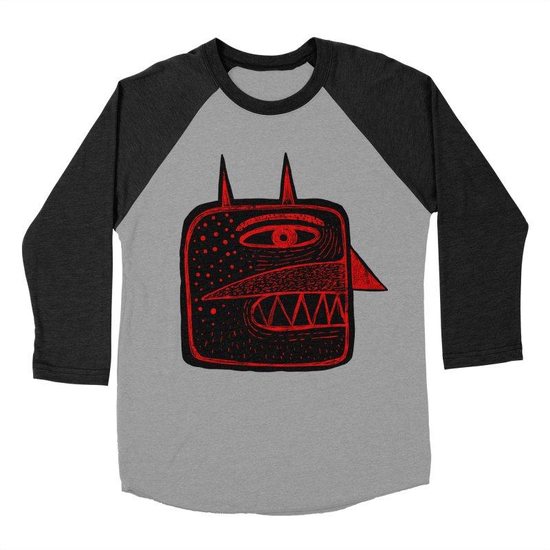 Diábolo 1 Men's Baseball Triblend T-Shirt by montt's Artist Shop
