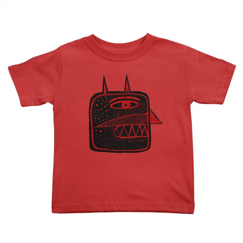 Diábolo 1 Kids Toddler T-Shirt by montt's Artist Shop