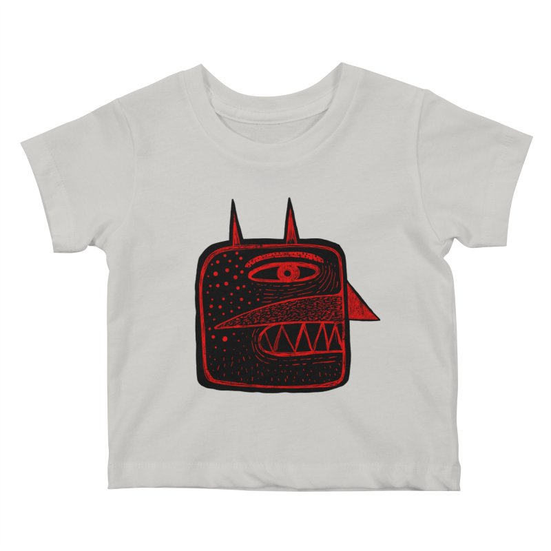 Diábolo 1 Kids Baby T-Shirt by montt's Artist Shop