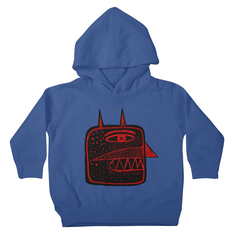 Diábolo 1 Kids Toddler Pullover Hoody by montt's Artist Shop