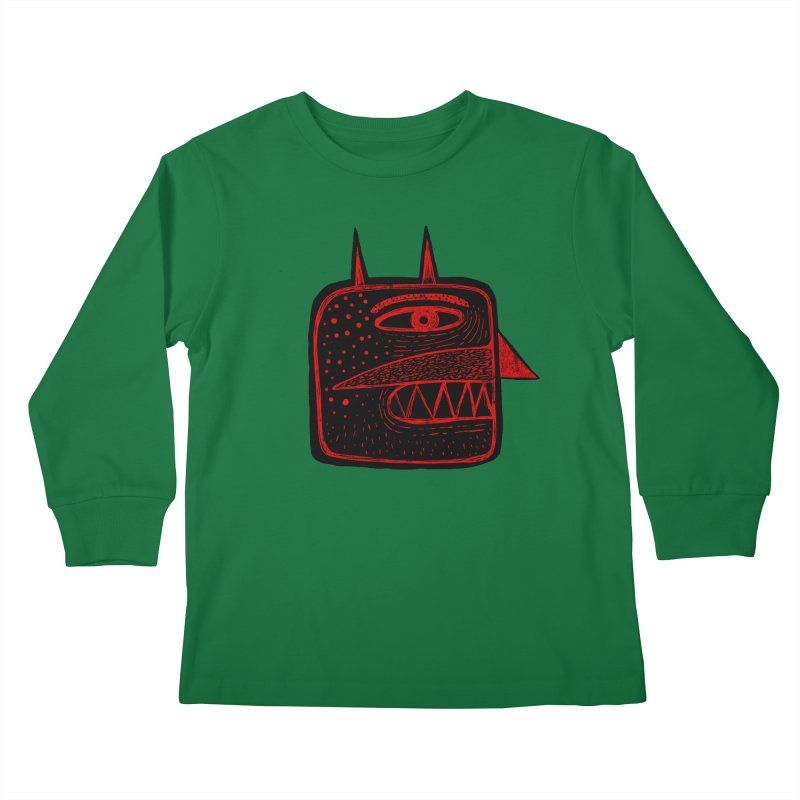 Diábolo 1 Kids Longsleeve T-Shirt by montt's Artist Shop