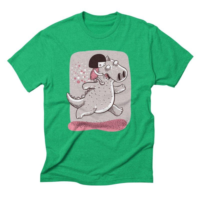Día libre Men's Triblend T-Shirt by montt's Artist Shop