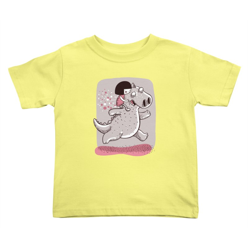 Día libre Kids Toddler T-Shirt by montt's Artist Shop